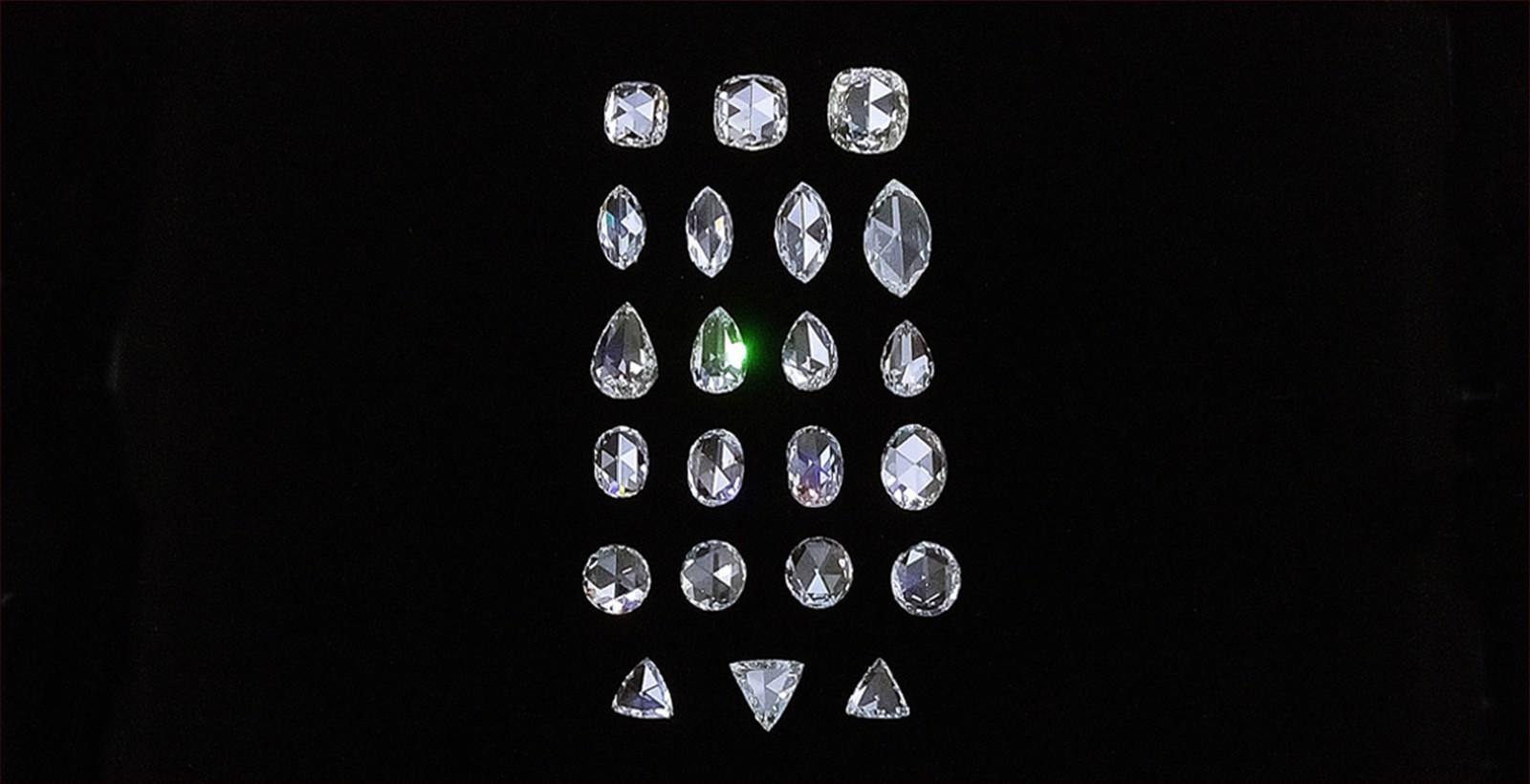 玫瑰切割鑽石 <br /> <div> 圓形,馬眼形,蛋形,水滴形,三角形,心形,枕形 </div>